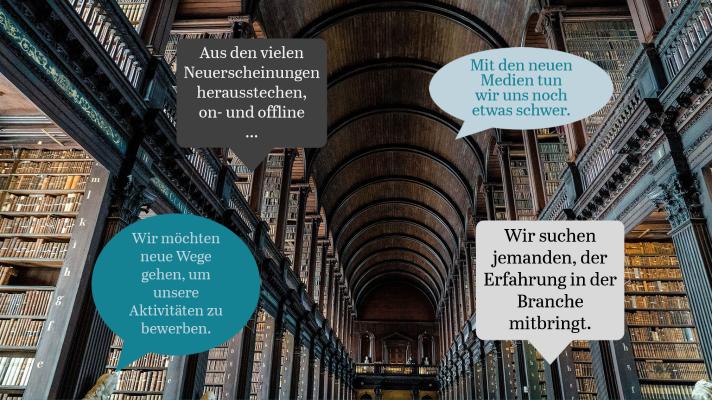 Marketing für die Buchbranche.