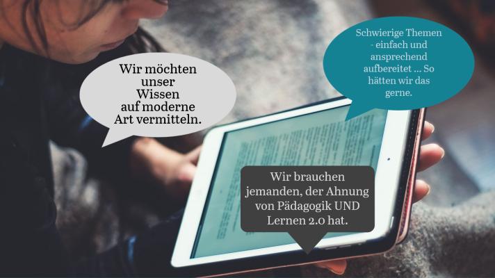 Übungsmaterial für moderne Wissensvermittlung.