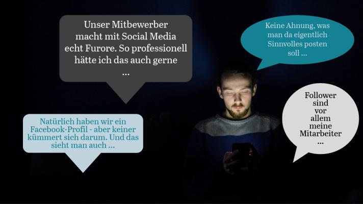 Social Media-Kampagnen mit klaren Zielen.